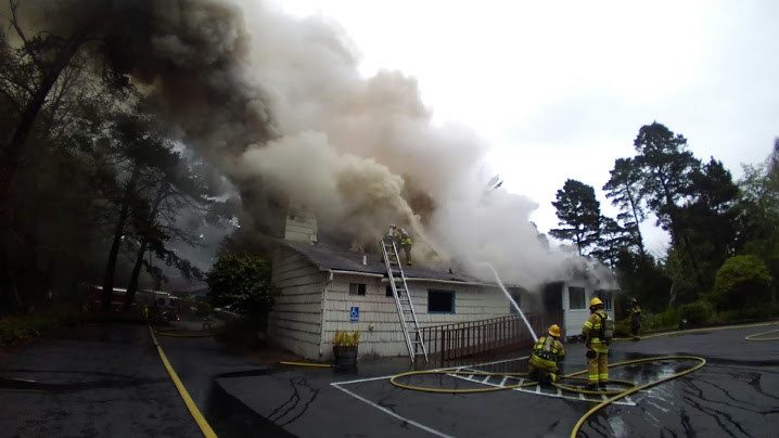 Gleneden Beach Christian Church fire