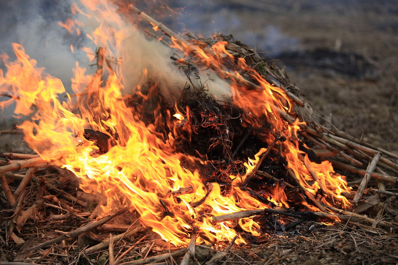 Lincoln County Burn season