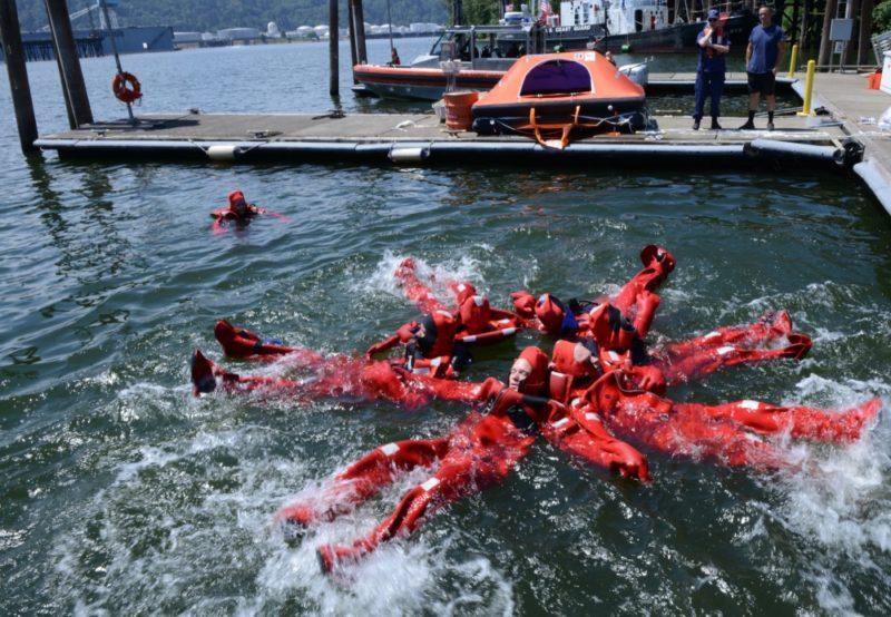 Coast Guard training
