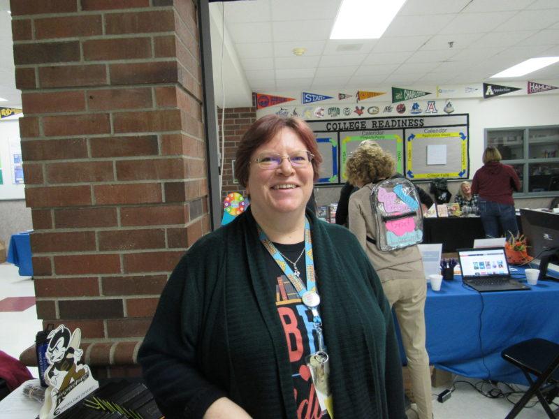 Lincoln County School District Teacher Librarian Sudi Stodola