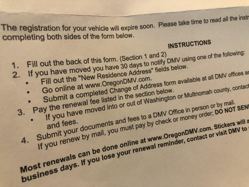 DMV Fees