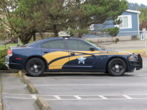 Oregon State Police patrol car