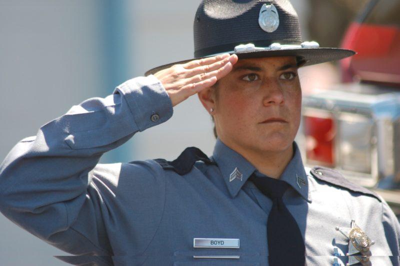 OSP Newport Commander Carie Boyd