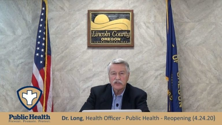 Dr. Long – What's Needed Before Reopening