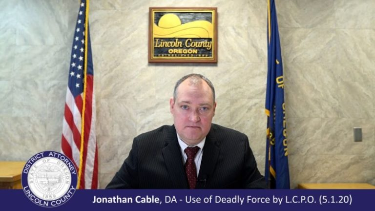 Lincoln City Police shooting: 'Use of Deadly Force' video and media release