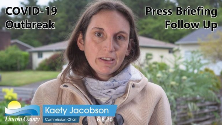 Commissioner Jacobson press briefing follow-up