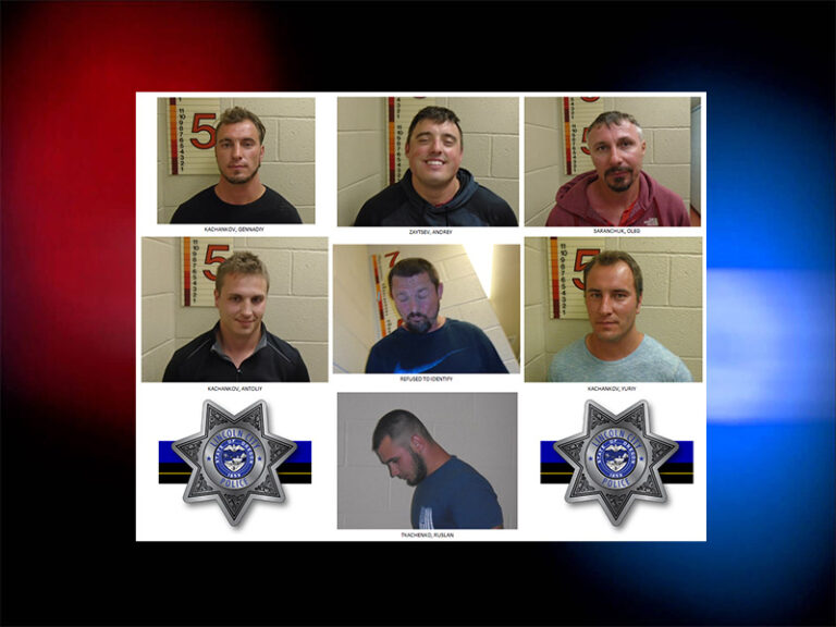 UPDATED: Seven Clark County men arrested for harassment in Lincoln City