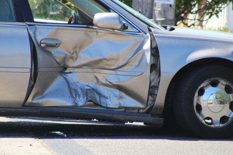 Car crash Lincoln City