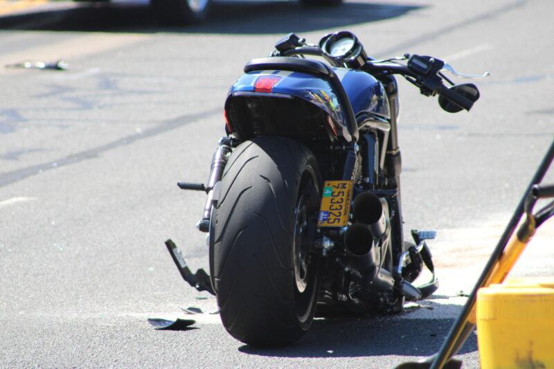 Harley-Davidson crash