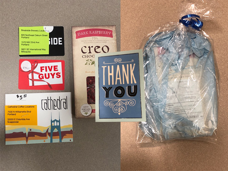 Portland Police Gift Bags
