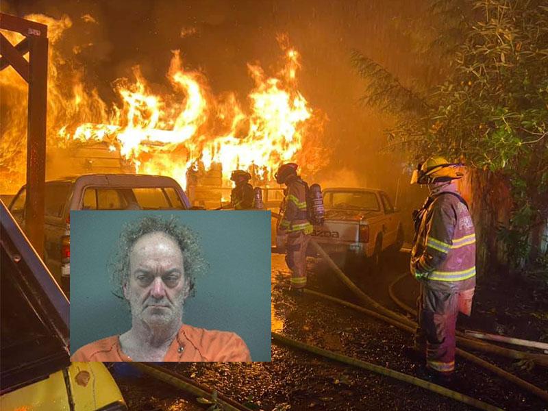 Gleneden Beach House Fire